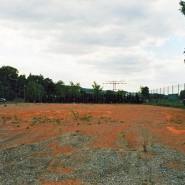 Idyllisch an der Flöha gelegen wurde die gesamte Tennisanlage regelrecht weggespült.