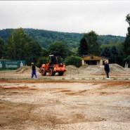 Der lang ersehnte Baubeginn im August 2003.