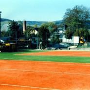 Pünktlich zum Beginn der Sommer-Saison wurde die Tennis-Anlage mit vier Plätzen fertiggestellt.