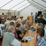 Gäste aus allen Teilen Deutschlads haben es sich nicht nehmen lassen, bei der 50-Jahrfeier dabei zu sein.