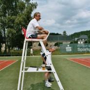 Dieter Pramhas (marena, Tennishalle Marienberg) organisierte eine Tennispräsentation.