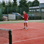 Tennispräsentation - Perfekte Technik.