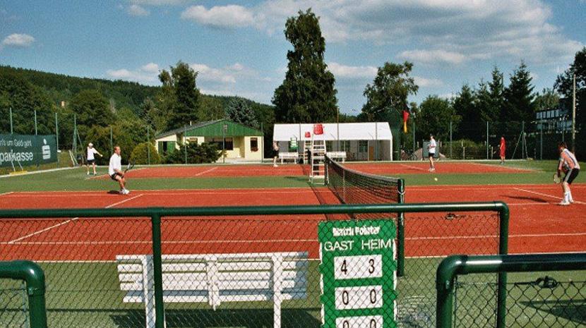 Tennisanlage des OTC