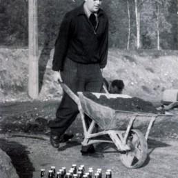 Harry Pertermann war einer der Gründungsmitglieder der BSG Stahl Olbernhau.