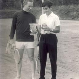 Jugend-Pokalsieger Erhard Hänel (links) und Peter Mühl (rechts).