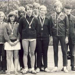 Wolfram Wiener, Gabi Reißig, Renate Matz, Ellen Baumann, Lutz Erler, Karsten Czech, Brigitte Göhlert, Hans-Jürgen Scholz, Christoph Koch und Andreas Ott (von links).
