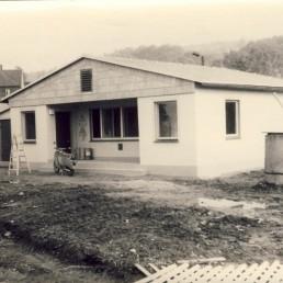 Unser altes Vereinshaus im Jahre 1981.