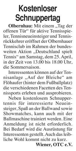 Erzgebirge Kurier 23.04.2015