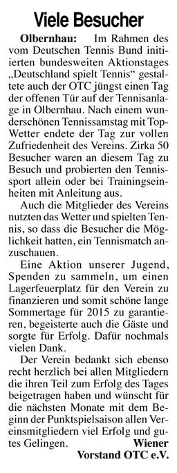 Erzgebirge Kurier 07.05.2015